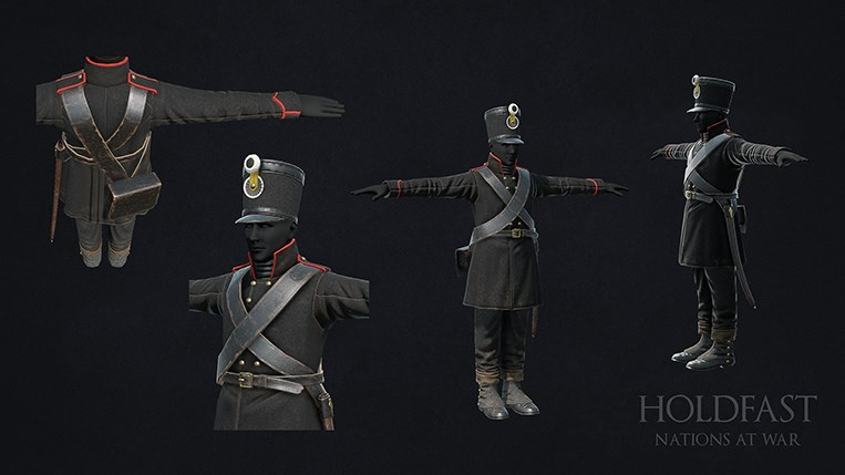 Holdfast NaW - Light Infantry
