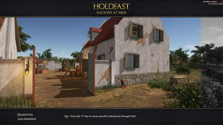 Holdfast NaW - Map Loading Sceen Tips